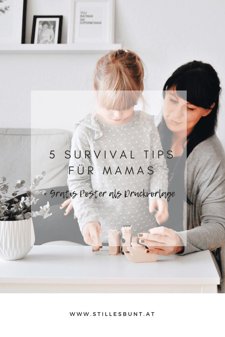 5 Survivaltipps für Mamas