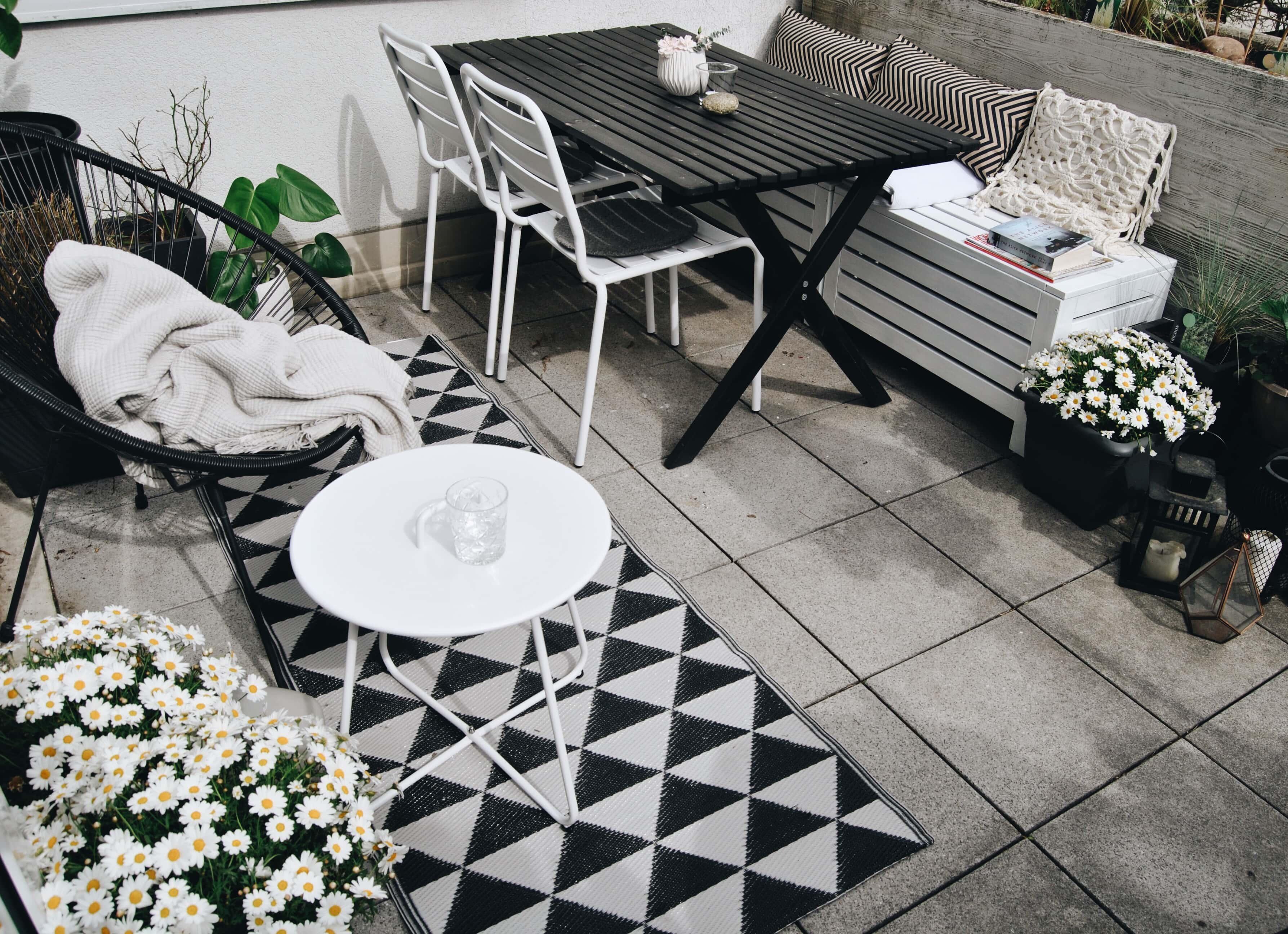 hygge auf Balkon & Terrasse