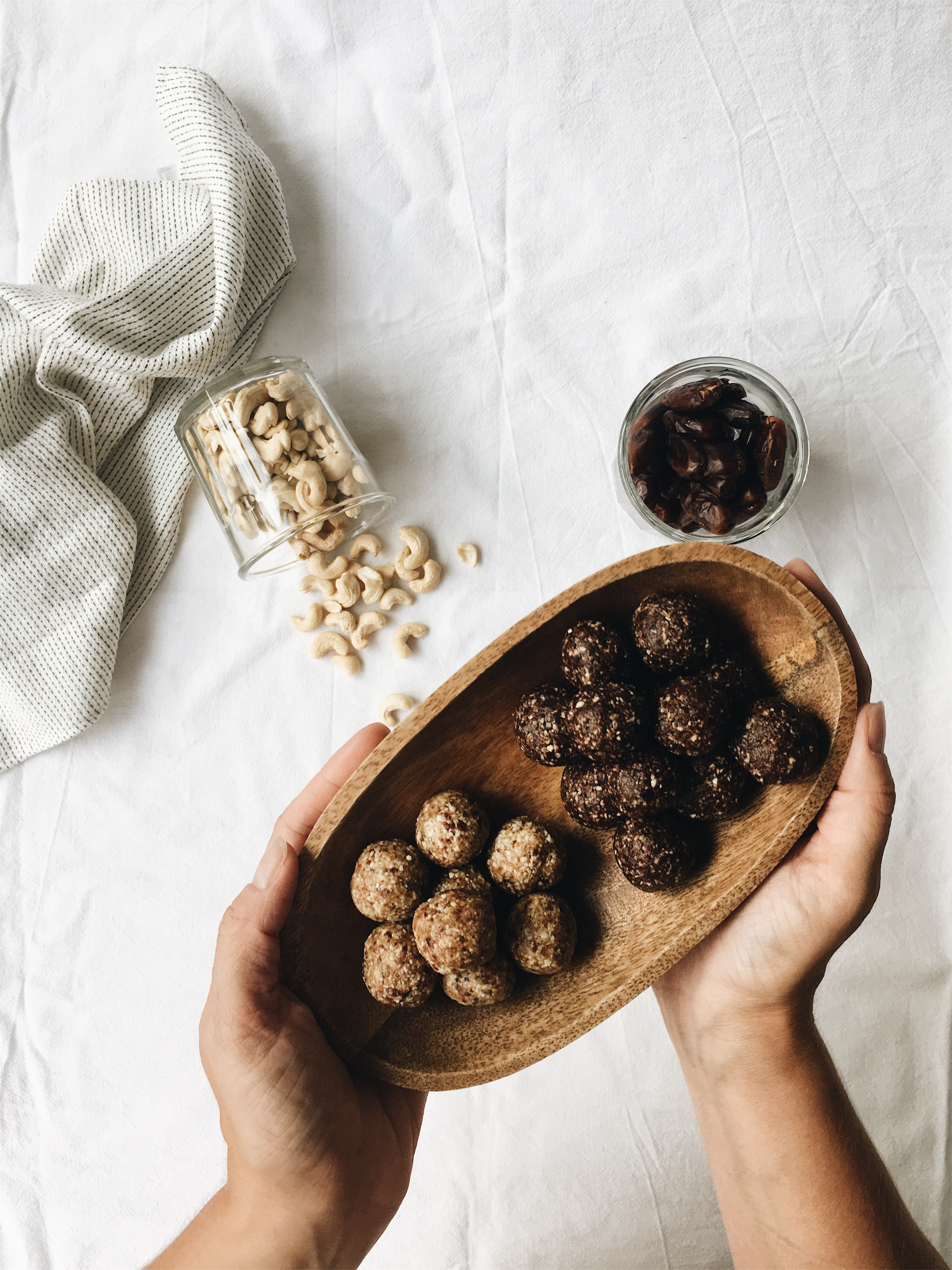 Cashew Bites Veganer Pausensnack für Schule und Job