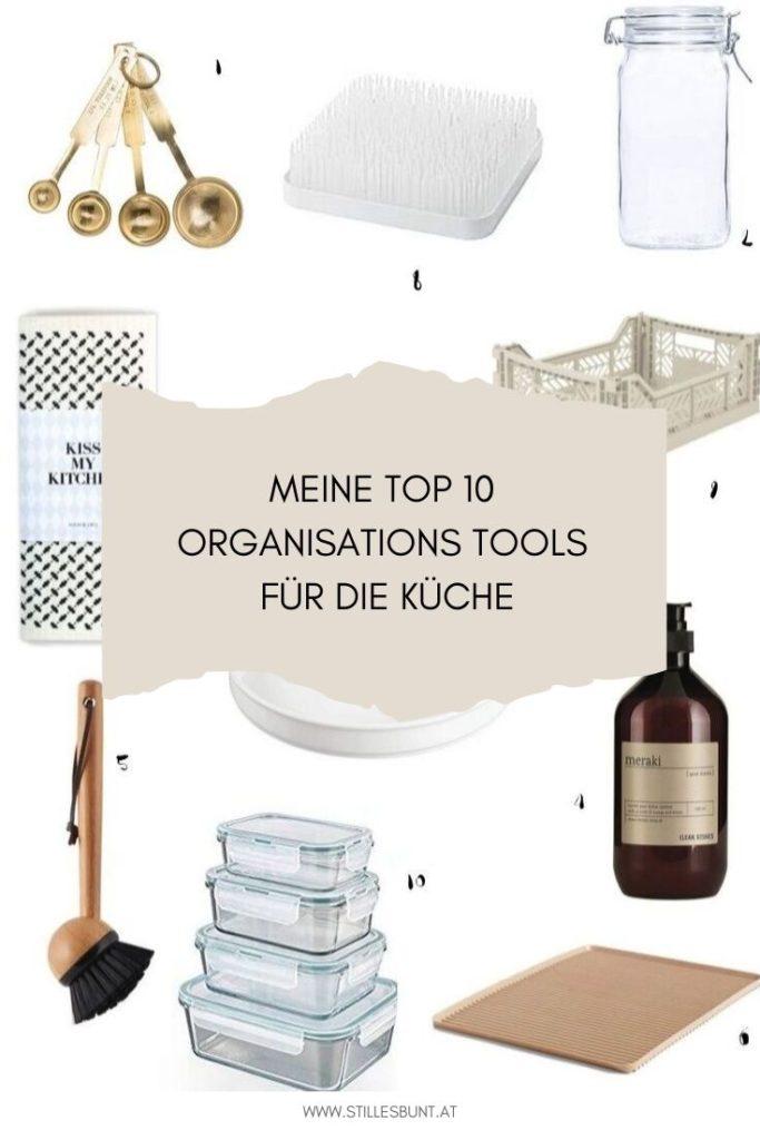 Küchenorganisation Tools