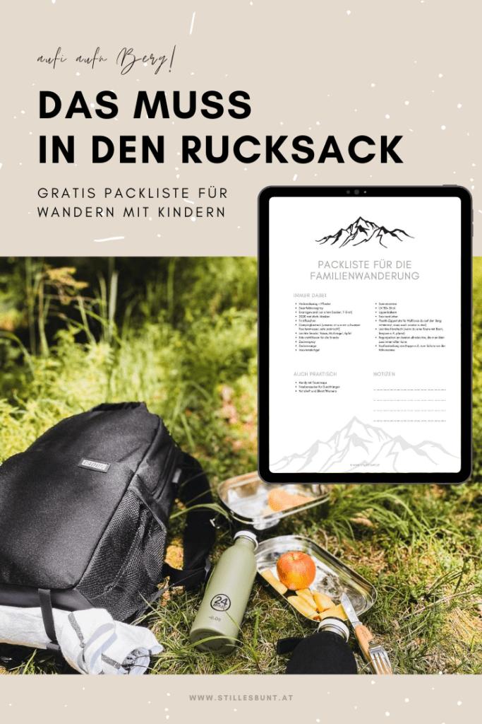 Packliste-Wanderurlaub-stillesbunt