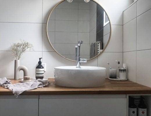 Badezimmer-Holz-skandinavisch