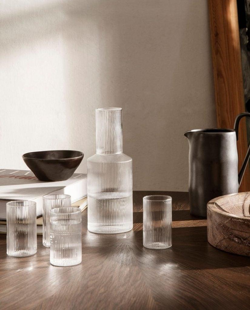 ferm-living-ripple-deckel-glas