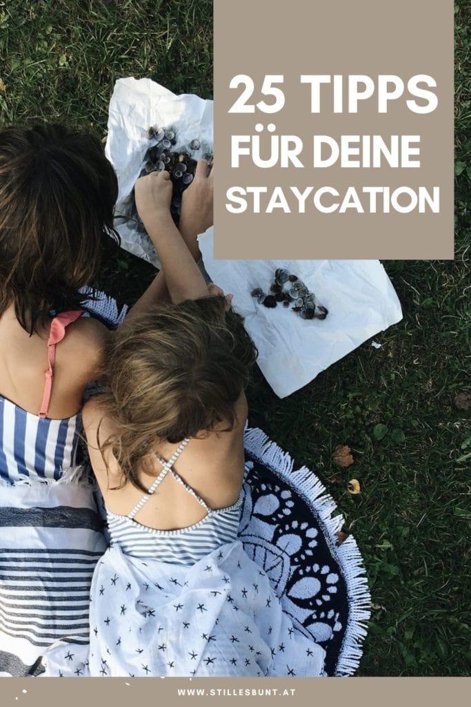 Staycation Tipps für den Urlaub zu Hause