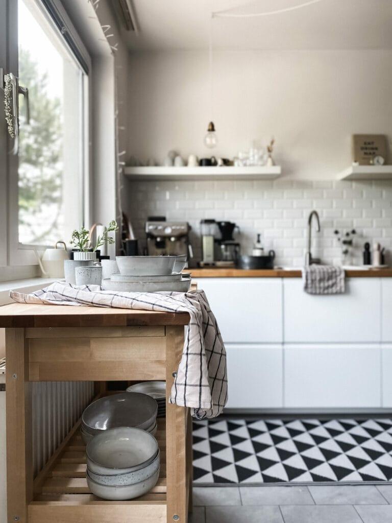 Küchenteppich-Inspiration